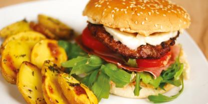 "Diese Woche neu bei ""Clever kochen"": Der leckere Italian Burger"